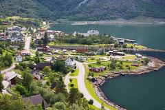 Eidfjord, Norway Royalty Free Stock Photo
