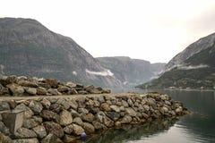 Eidfjordgebied Stock Foto's