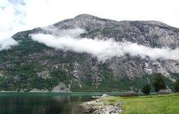 Eidfjordgebied Stock Fotografie