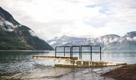 Eidfjordgebied Stock Afbeeldingen