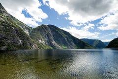 Eidfjordvatnet Fotografia Stock Libera da Diritti