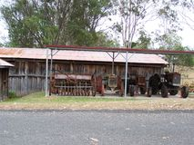 Eidsvold Historic Tractors Stock Photos