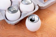Eier der Zukunft Stockfotos
