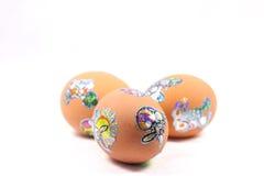 Eier durch Ostern Stockbilder