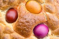 Eier im Brot Lizenzfreies Stockfoto