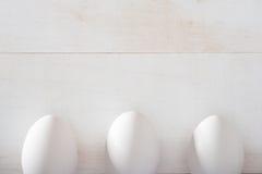 Eier mit Kopienraum Lizenzfreie Stockbilder