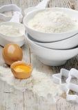 Eier und Mahlzeit Stockfoto