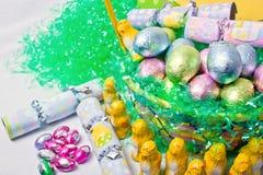 Eier und Sachen Stockbilder