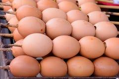 Eier und Toast von Thailand Stockbild