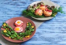 Eier von Wachteleiern Lizenzfreie Stockbilder