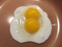 Eier zum Frühstück Lizenzfreies Stockfoto