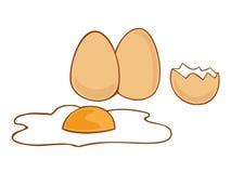 Eieren. vector illustratie
