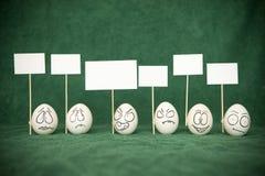 Eieren. stock foto's