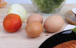 3 eieren Royalty-vrije Stock Foto's