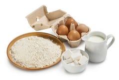 De ingrediënten van het baksel Royalty-vrije Stock Afbeelding