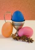 Eieren en kruiden Royalty-vrije Stock Afbeeldingen