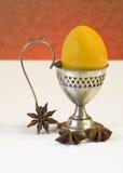 Eieren en kruiden Royalty-vrije Stock Foto