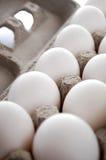 Eieren in het Karton van het Ei Royalty-vrije Stock Foto