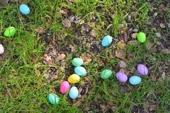Eieren op een mand royalty-vrije stock foto