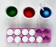 Eieren voor het Sterven Stock Afbeelding