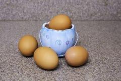 Eieren voor Pasen Royalty-vrije Stock Afbeeldingen