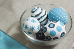Eieren voor Pasen Stock Foto's
