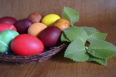 Eieren voor Pasen Stock Foto