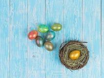 Eieren voor Pasen Stock Afbeeldingen