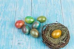 Eieren voor Pasen Stock Afbeelding