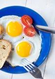 Eierenontbijt Stock Foto's