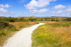 Eierland à l'île Texel Photo libre de droits