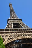 Eifal tower in Paris (France) on MAY 2014. Famous tower in Paris(France) on MAy 2014 Stock Photos