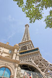 Eifel塔在拉斯维加斯 免版税库存图片