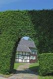 eifel德国套期交易monschau区域 免版税库存照片