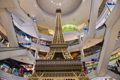 Eifel budynek przy Terminal 21 w Korat Zdjęcia Royalty Free