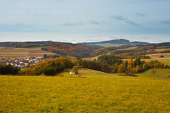 Eifel Landschaft, Deutschland Stockbild