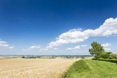 Eifel lata krajobraz, Niemcy Zdjęcia Royalty Free