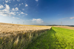 Eifel Summer Landscape, Germany Royalty Free Stock Photo