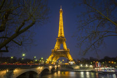 Eifel torn Arkivfoto