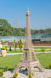 Eifel tower model Royalty Free Stock Photos