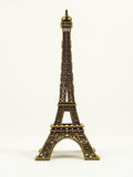 Eifel tower model on white background Royalty Free Stock Photos