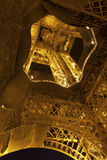 Eifel Tower in summer night Royalty Free Stock Photo