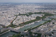 From the Eifel tower royalty free stock photography