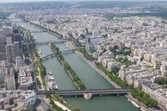 From the Eifel tower stock images