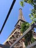 Eifeltower de París en Francia imagen de archivo libre de regalías