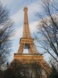 eiffel обрамил башню Стоковое Изображение