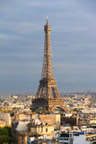 Eiffel afternoon closeup Royalty Free Stock Photography