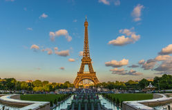 Eiffel-Ansicht Lizenzfreies Stockfoto
