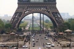Eiffel bas Photographie stock libre de droits