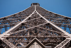 Eiffel from the bottom Stock Photos
